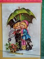 KOV 8-305 - New Year, Bonne Annee, Children, Enfant, RAMONEUR, CHIMNEY SWEEP, Champignon, Mushroom, Chien - Anno Nuovo