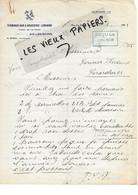 73 - Savoie - AIX-LES-BAINS - Facture MOREL - Terminus-bar Et Brasserie Lorraine - 1933 - REF 177D - 1900 – 1949