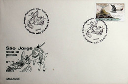 1974 Angola São Jorge - Patrono Dos Escuteiros / Saint George - Boy Scouts Patron - Non Classés