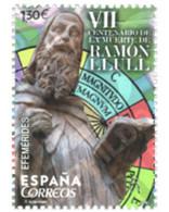 Ref. 357662 * MNH * - SPAIN. 2016. VII CENTENARY OF THE DEATH OF RAMON LLULL . VII CENTENARIO DE LA MUERTE DE RAMON LLUL - 2011-... Nuevos & Fijasellos