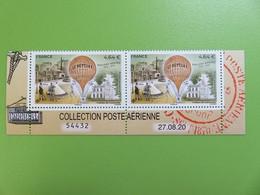 Timbre France - Ballons Montés 1870-2020 - Le Neptune - 2 Timbres Sur Bas De Mini Feuille Numérotée - NEUF - 2020 - 1960-.... Mint/hinged