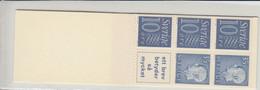 Sweden Slot-Machine Booklet 1962 - Facit  HA 11 A OV MNH ** - 1951-80