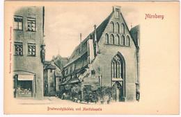 D-11627  NÜRNBERG : Bratwurstglücklein Und Moritzkapelle ( Präge ) - Nuernberg