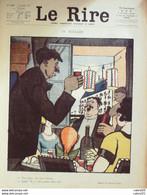 """REVUE """"LE RIRE""""-1921-128-14 JUILLET-FALKE FABIANO JEANNIOT GERBAULT ARNAC NOB - 1900 - 1949"""