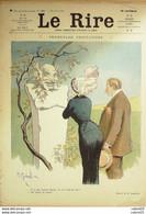"""REVUE """"LE RIRE""""-1912-481-GERBAULT GENTY VILLEMOT MIRANDE BURRET - 1900 - 1949"""