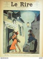 "REVUE ""LE RIRE""-1911-445-MIRANDE CAPY PAVIS ROUBILLE GERBAULT BRUNN GENTY - 1900 - 1949"