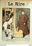 "REVUE ""LE RIRE""-1906-181-GERBAULT AVELOT ROUBILLE GUILLAUME CARLEGLE MOTE - 1900 - 1949"