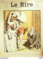 """REVUE """"LE RIRE""""-1906-160-GERBAULT GALANIS BURRET BARCET VILLEMOT POULBOT - 1900 - 1949"""