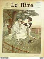 """REVUE """"LE RIRE""""-1903- 16-WILLETTE HERMANN BAC HUARD GERBAULT DELAW FAIVRE - 1900 - 1949"""