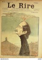 """REVUE """"LE RIRE""""-1900-281-EDMOND ROSTAND -METIVET LEANDRE GERBAULT  VILLEMOT - 1900 - 1949"""