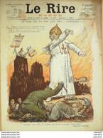 """REVUE """"LE RIRE ROUGE""""-1918-179-PAPE-LEANDRE GERBAULT JEANNIOT NOB FALKE - 1900 - 1949"""
