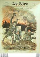 """REVUE """"LE RIRE ROUGE""""-1915- 49-GOTT MIT UNS-LEANDRE MEUNIER HUARD HAUTOT BAILLE - 1900 - 1949"""