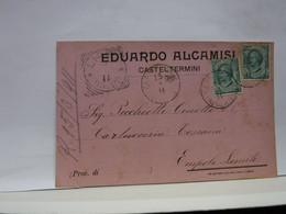 CASTELTERMINI   -- AGRIGENTO --- EDUARDO ALCAMISI - Agrigento