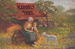 281012Kahrel's Thee (zie Hoeken En Achterkant) - Reclame