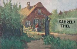 281016 Kahrel's Thee (zie Hoeken En Achterkant) - Reclame
