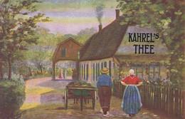 281017Kahrel's Thee (zie Hoeken En Achterkant) - Reclame