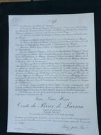 Comte Henri Du Perier De Marsan 1908 Castillonnes - Obituary Notices