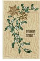CPA- BONNE ANNEE 07- Gui Et étoiles. - Altri Comuni