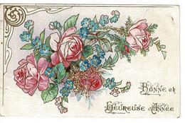 CPA- BONNE Et HEUREUSE  ANNEE 07- Roses.Ondefontaine Par Aunay Sur Odon - Altri Comuni