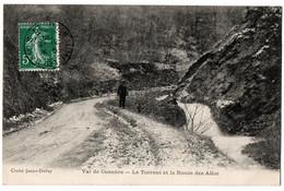 CPA 25 - Val De Cusance (Doubs) - Le Torrent Et La Route Des Alloz - Otros Municipios