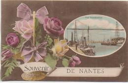 44 Souveir De NANTES  Carte Fanfaisie - Nantes