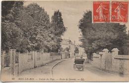 77 BOIS-le-ROI Entrée Du Pays  - Route De Samois - Bois Le Roi