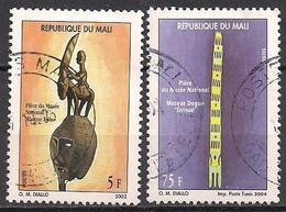 Mali (2002)  Mi.Nr.  2593 + 2597 II  Gest. / Used  (4gp19) - Mali (1959-...)