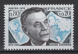France: 1975. Y&T 2020. N° 1858 TP **, MNH, Neuf(s). TTB - Neufs