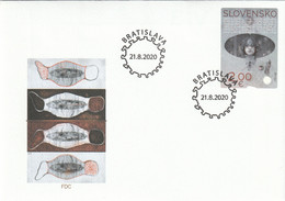 Slovensko - Slovakia - 2020 COVID-19 FDC - FDC
