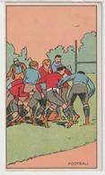 Pub Illustrateur - Thème Du Sport : Le Rugby (légendé Football) - Non Classés