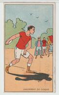 Pub Illustrateur - Thème Du Sport : Lancement Du Disque - Autres