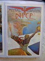 CARTE POSTALE PUBLICITE - MEETING D'AVIATION 10-25 AVRIL 1910 A NICE - Demonstraties