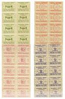 Italie Timbres Collegamento Postale Frontiera Italo Svizzera (1945) En Blocs De 10 Neufs ** MNH. TB. A Saisir! - Autorisierter Privatdienst