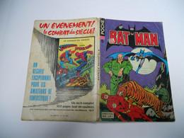 BATMAN POCHE N°5 ECHEC AU  POISON  SAGEDITION 1977 - Batman