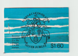 (D372)   Turks & Caicos 1977 Silver Jubilee Booklet MNH - Turks & Caicos