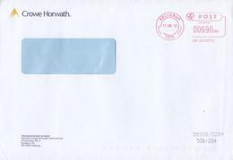 Denmark CROWE HORWATH Strandvejen 58, HELLERUP 2012 Meter Cover Freistempel Brief - Cartas