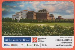 TORINO - La Venaria Reale - Reggia Di Venaria - Piano Nobile - Biglietto D'ingresso Omaggio Torino Card - Usato - Tickets - Entradas