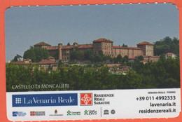 TORINO - La Venaria Reale - Castello Di Moncalieri - Ingresso Giardini E Orti - Biglietto D'ingresso Intero - Usato - Tickets - Vouchers