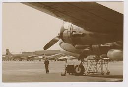 Rppc KLM K.L.M Royal Dutch Airlines Douglas Dc-4 & Dc-3 @ Schiphol Airport - 1919-1938: Between Wars