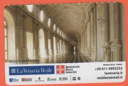 TORINO - La Venaria Reale - Reggia Di Venaria - Ingresso Giardini E Orti - Biglietto D'ingresso Abonamento Museo - Usato - Tickets - Vouchers