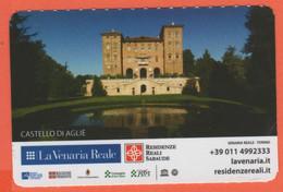 TORINO - La Venaria Reale - Castello Di Aglie - Reggia Piano Nobile - Biglietto D'ingresso Omaggio Torino Card - Usato - Tickets - Vouchers