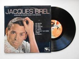 JACQUES BREL (Les Bigotes) Vinyle 33 Tours 25 Cm - TTB (Lot 139) - Andere - Franstalig