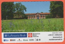 TORINO - La Venaria Reale - Castello Della Mandria - Reggia Piano Nobile - Biglietto D'ingresso Omaggio Torino Card - Us - Tickets - Entradas