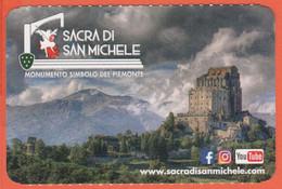 Piemonte - Sacra Di San Michele - Monumento Simbolo Del Piemonte - Biglietto D'ingresso Omaggio Torino Card - Usato - Tickets - Entradas