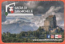 Piemonte - Sacra Di San Michele - Monumento Simbolo Del Piemonte - Biglietto D'ingresso Omaggio Torino Card - Usato - Tickets - Vouchers