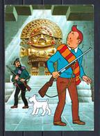 CP Tintin : Editions YVON N° 12 : Tintin Et Le Temple Du Soleil. - Comics
