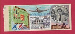 BILLET DE LOTERIE NATIONALE - NORMANDIE NIEMEN - LES AILES BRISEES - Lottery Tickets