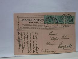 ARGENTA  --FERRARA  --  NEGRINI ANTONIO  .. PAGLIE PER FIASCHI -- VIMINI ECC. - Ferrara