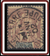 Guadeloupe 1876-1903 - N° 28 (YT) N° 28 (AM) Oblitéré De Basse-Terre. - Used Stamps
