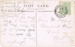 38434. Postal DOUGLAS (Isle Of Man) England 1907. ELECTRIC RAILWAY. Hotel SUMMIT Of Snaefell - Briefe U. Dokumente